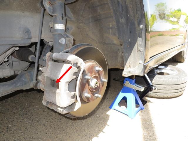 ブレーキパッドの点検と交換