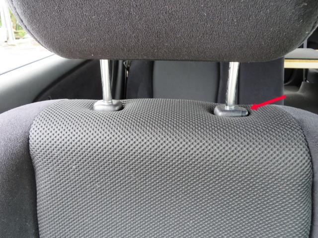 ドライビングポジション(シート)の調整