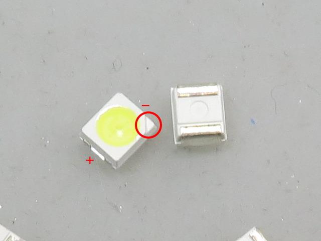 パワーウィンドウスイッチのLEDを打ち替えました