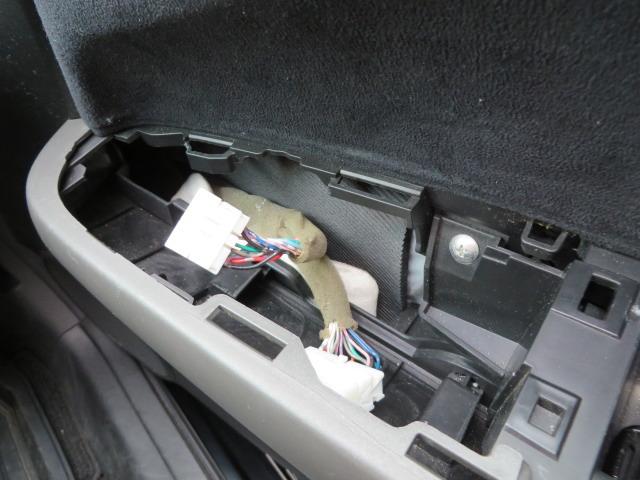 ドアミラー調整スイッチをオデッセイ用に交換